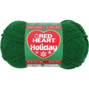 Coats yarn Red Heart Holiday Yarn, Green with Green Metallic