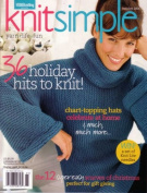 Knit Simple Magazine Holiday 2006