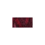 Red Heart Boutique Sashay Sequins Yarn Cabernet ruffle Scarf Yarn