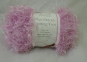 M.t Limited 50g Lilac Plain Ostrich Knitting Yarn 100% Polyester