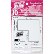 Susan Bates Gauge Grabber for Knitting, 10 Per Package