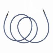 Denise Interchangeable Knit & Crochet Long Cord-100cm Blue