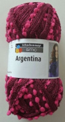 SMC Argentina Fushia Ruffle Scarf Bulky Yarn