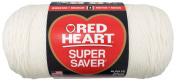 Red Heart E302B.0316 Super Saver Jumbo Yarn, Soft White
