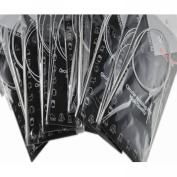 "2013newestseller 11pcs 32"" 80cm Stainless Steel Circular Knitting Needles"