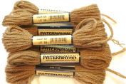 Paternayan Needlepoint 3-ply Wool Yarn-Colour-424-Coffee Brown
