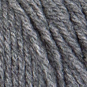 Coats & Clark Red Heart Super Saver Jumbo Yarn, Grey Heather