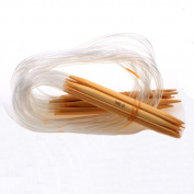 Ostart 18 Set Kit 30'' Inch (80cm) Circular Bamboo Knitting Needles