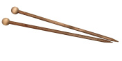 Camden Rose Cherry Wood Knitting Needles, Size 10