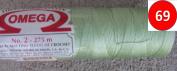Hilos Omega Thread - Size 2 - 300 Yards