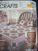 MCCALLS CRAFTS 5780 EASY QUILTING BEDROOM QUILTS MULTIPLE PROJECTS MARTIMICHELL PATTERN