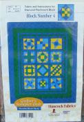 Hancock Fabrics Diamond Patchwork Block Number 4