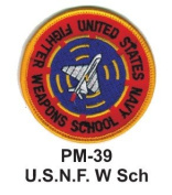 7.6cm Embroidered Millitary Patch U.S.N.F. W Sch