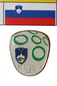 Slovenija FIFA World Cup Metal Lapel Pin Badge New