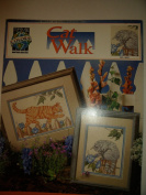 Cat Walk cross stitch