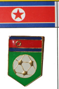 North Korea FIFA World Cup Metal Lapel Pin Badge New