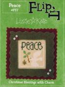 Lizzie Kate Flip It Peace #F57