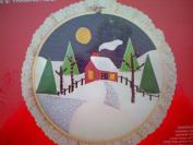 Applique CALIC-O'S in 25cm Framing Hoop 2206 Winter Scene
