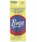 Cross Stitch Hand Needles-Size 24 4/Pkg