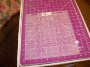 15cm Wedding Ring Quilting Stencil