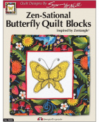 Design Originals DO809 Sensational Butterflies Quilting Template with Zen Tangle