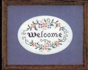 Always Welcome - Stamped Cross Stitch Kit