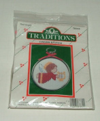 Red Angel Cross Stitch Kit By Traditions #T8503