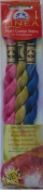 Pearl Cotton Skeins Kit - Set No. 017 - Colour Nos. 602, 734, 824