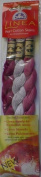 Pearl Cotton Skeins Kit - Set No. 002 - Colour Nos. 915, 3743, 3687