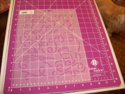 25cm Sewing Box Jumble Quilting Stencil