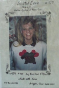 Scottie Love - Pattern for Machine Applique or Fabric Paint by Suzy Brown Stout - #127