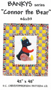 Bankys Connor The Bear Quilt Pattern