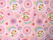 Strawberry Shortcake Throw Pillows Quilting Fat Quarter (1 Fat Quarters) Fabric NEW
