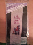"Banar Designs Counted Cross Stitch Bookmark Kit ""A Beary Good Book"""