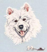 Pegasus Originals Samoyed Counted Cross Stitch Chart Pack