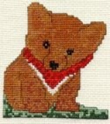 Pegasus Originals Fanci Fox Counted Cross Stitch Kit