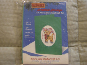 Christmas Greetings (Reindeer) Cross Stitch Needlecraft Kit #81535