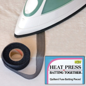 Heat Press Batting Together 1.9cm X 10 Yards-Black