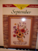 September Flower of the Month By Just Cross Stitch