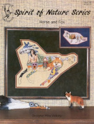Pegasus Originals Horse and Fox Counted Cross Stitch Leaflet