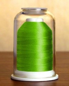 Hemingworth 1000m PolySelect Embroidery Thread - Electric Green 1097