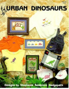 Urban Dinosaurs - Cross Stitch Pattern
