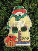 Gloria Snow Olde Time Snow Folks Counted Cross Stitch Ornament Kit