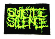 Suicide silence rock band logo Embroidered Iron On Patch