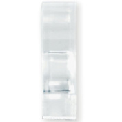 Table Cover Clips - Clear - 6 Count - for plastic table covers