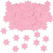 Pink Star of David - Magen David Confetti, Hebrew, Jewish Decorations for Weddings, Bat Mitzvah, Bar Mitzvah, Holiday Parties