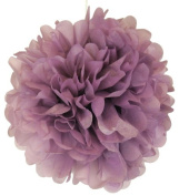 Tissue Pom Pom Paper Flower Ball 25cm Orchid Purple -Just Artefacts Brand