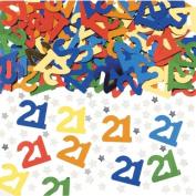 21 Confetti - Metallic Multicoloured