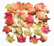 Creative Converting Embossed Maple Leaf Confetti