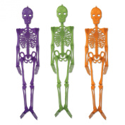 Beistle Plastic Skeletons, 4-Feet